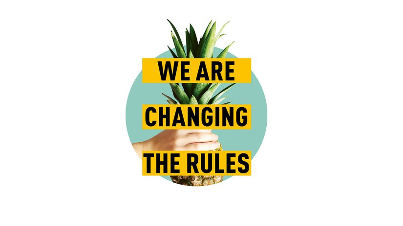 We are changing the rules